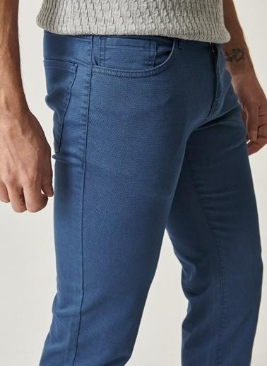 Altınyıldız Classics Slim Fit Desenli Pantolon 4A0118200029 İndigo